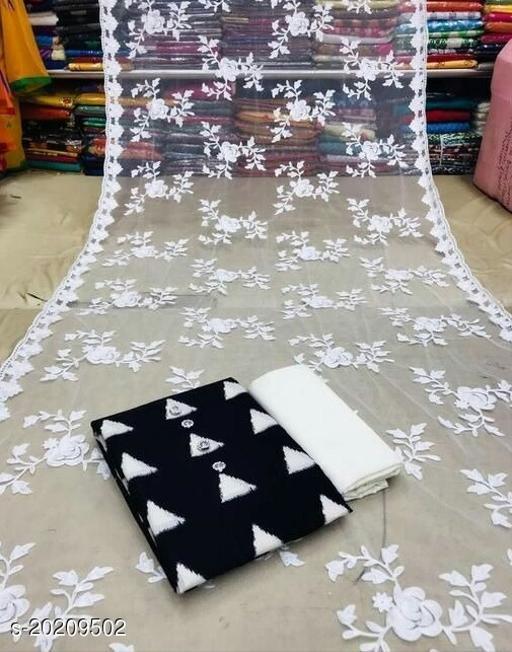 Trendy Cotton  Salwar Suits & Dress Materials