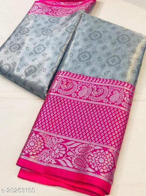 Party wear Pure Soft south indian and maharastrian silk saree with jari silk saree