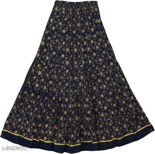 Kids girls long skirts