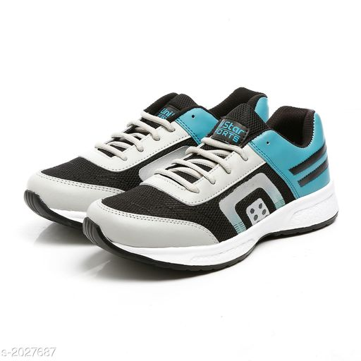Sports Shoes Stylish Synthetic Leather Men's Sport Shoe  *Material* Outer - Synthetic Leather, Sole - EVA  *IND Size* IND - 6, IND - 7, IND - 8, IND - 9, IND - 10  *Description* It Has 1 Pair Of Men's Sport Shoe  *Sizes Available* IND-6, IND-7, IND-8, IND-9, IND-10 *   Catalog Rating: ★4.1 (87) Shipping charges: Rs187 (Non-refundable)  Catalog Name: Fashionable Stylish Synthetic Leather Men's Sport Shoes Vol 1 CatalogID_268202 C67-SC1237 Code: 824-2027687-994