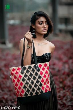 Jute Printed Tote Bags