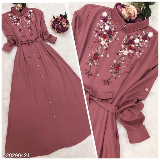 Designer Style rayon kurti For Women's