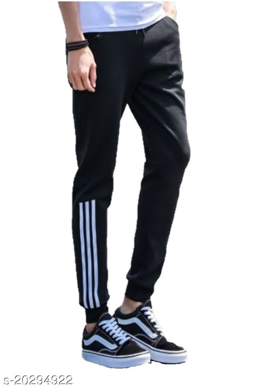Joggers Park Black Running Running Track Pants