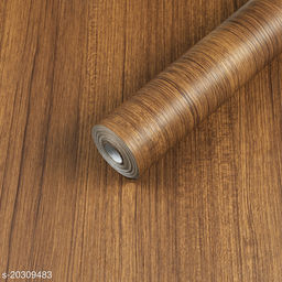 Oren Empower Wooden Touch Light Brown Classics Waterproof Wallpaper (60X500cm)