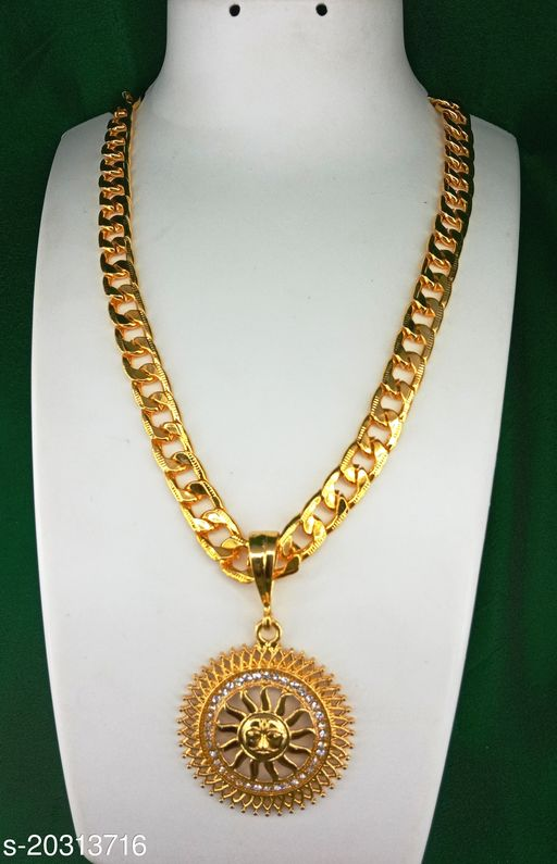 Alloy Gold Plated Chain