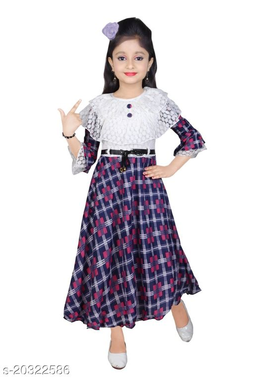 Girls Full Length Gown