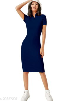 Women's Midi Western Dress