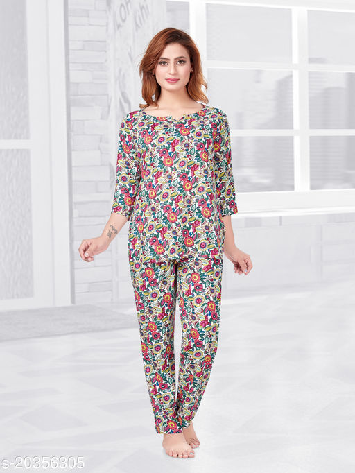OLD NAVY FLORAL NIGHT SUIT