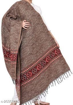 Kullu lohi/shawl for men women (almond colour)
