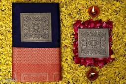 Banarasi Silk Jacquard Saree With Blouse Piece