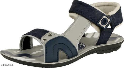 Attractive Men's Grey Sandals
