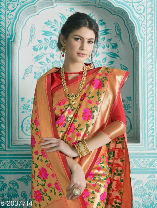Ravishing  Silk Saree