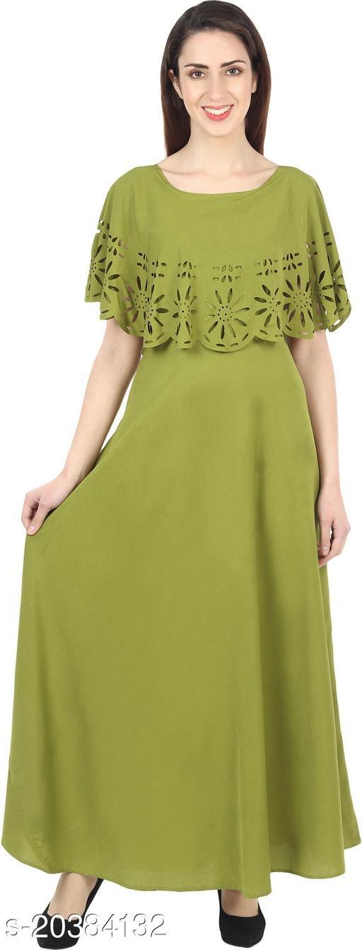 NOBEY  Women Gown MEHANDI Dress