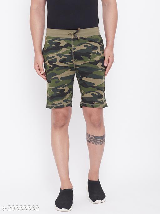 Harbor n Bay's Men Olive camouflage shorts