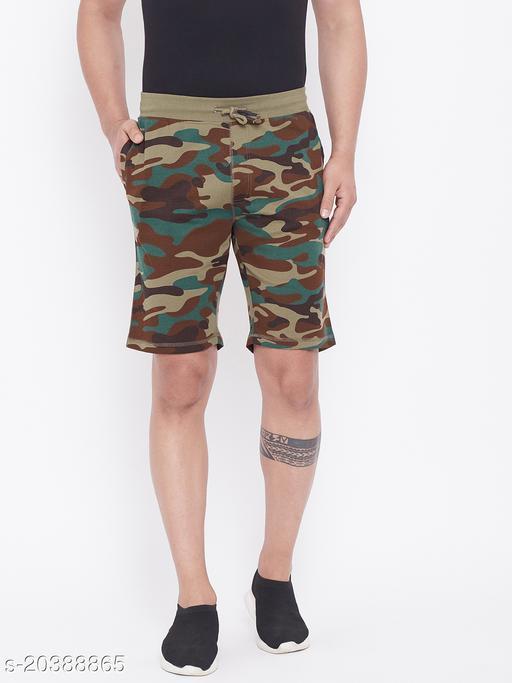 Harbor n Bay's Men Brown camouflage shorts