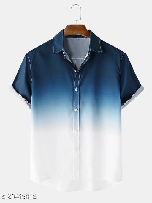 Men's Premium Poly Cotton Printed Half Sleeve Shirt :- AP - 0020