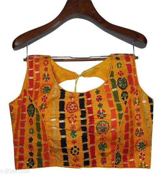 Trendy Cotton Printed Woman Blouse