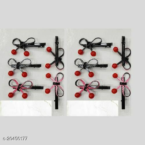 Fancy hair pin knot style set of 10