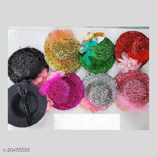 Fancy hair pin hat style set of 12