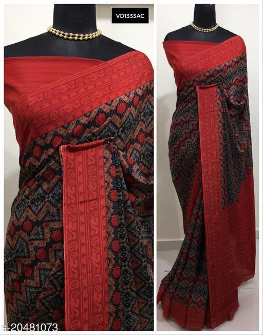 Daily Wear Printed Saree by Vipra Designer