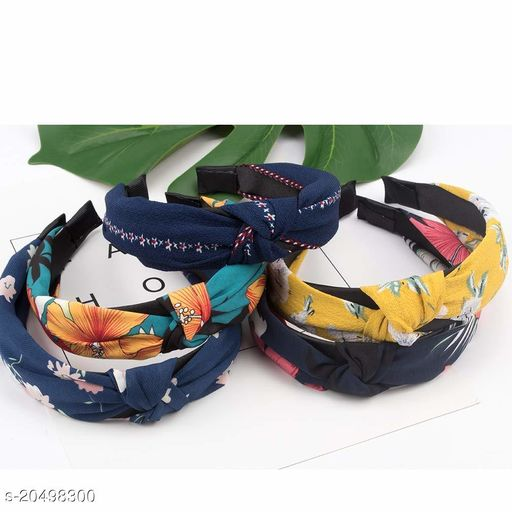 BEAUTY  knot Hair head Band for girls (pack of 5) multi