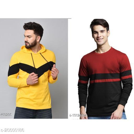 Fancy Men's Sweatshirt Combo(Pack of 2)