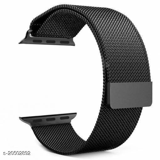 Magnetic Loop Metal Chain Strap (Black)