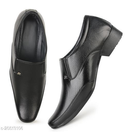 Kaneggye Black Derby shoes for Men