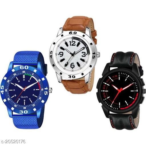 Bolun Collection New Multicolor Different Look Stylish Casual Analog Hand Watch Analog Watch
