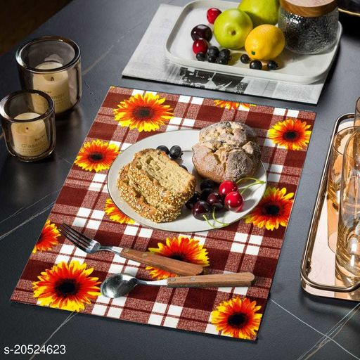 Fabric Placemat/Table mat  Waterproff, Scrach Proff