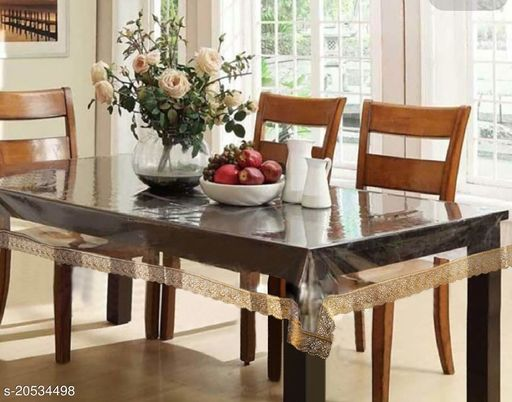 04 Seater Table Cover  Clear  (40*60)
