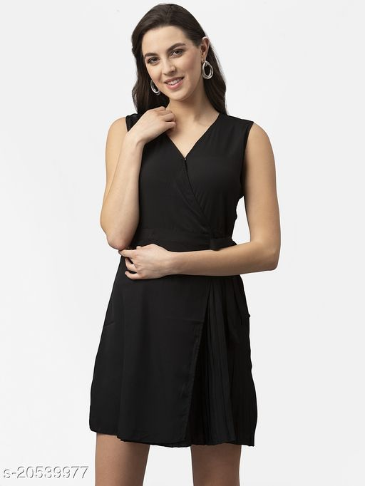 Style Quotient Womens Fit and Flare Dress