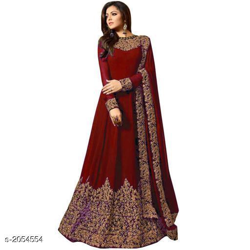Stylish Women's Semi-Stitched Gown