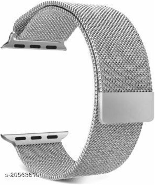Magnetic Loop Metal Chain Strap (Silver)