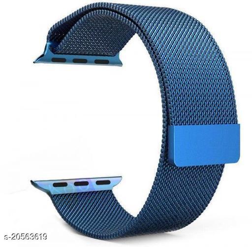 Magnetic Loop Metal Chain Strap (Blue)
