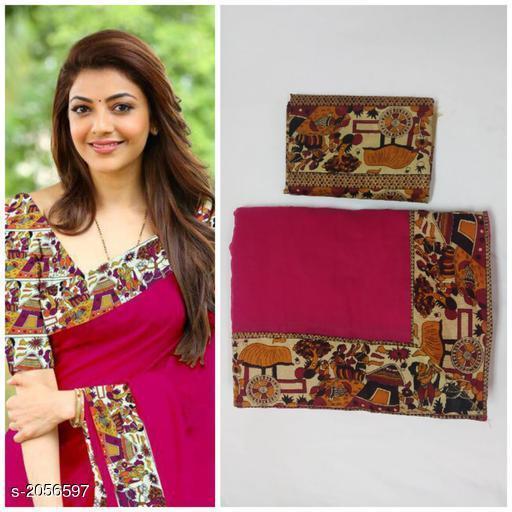 Fashionable Chanderi Cotton Women's Saree