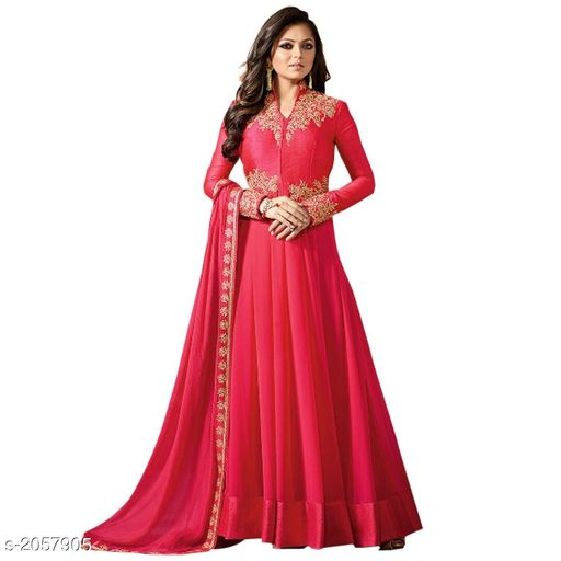 Attractive Faux Georgette Suits & Dress Materials