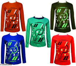OM CREATIVE MIND FULL SLEEVESS T-SHIRT (PACK OF 5)