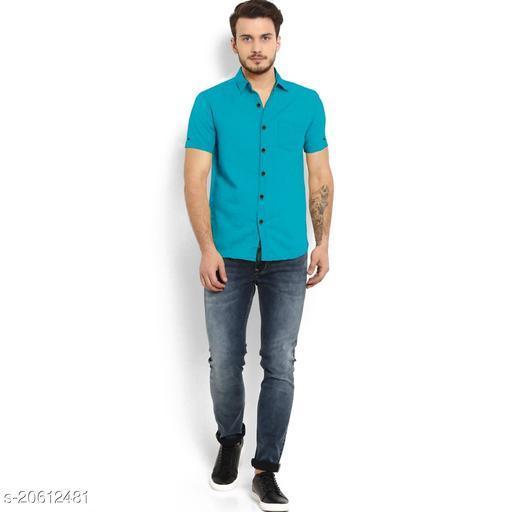 Mens Cotton Half Sleeves Shirt
