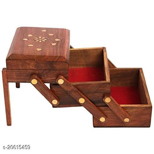 Wooden Jewellery Box for Women Jewel Organizer