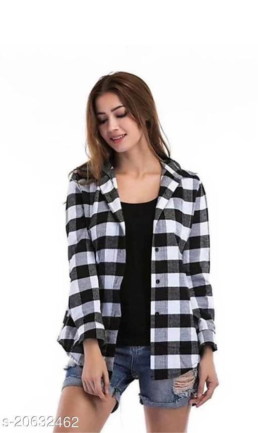 Trendy Martin Fashionable Classy Cotton Shirt For Women's/Ladies/Girl's