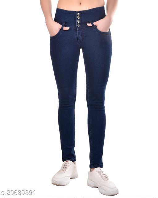 Ansh Fashion Wear Present Women & Girls Wear Strechable and Stylish Denim Jeans