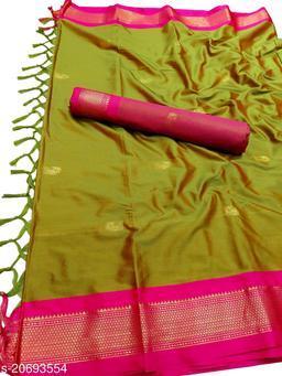 MH_Paithani_96_Yellow Ochre & Pink