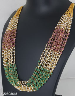 Pearl Chain of 22 Inches with 15 lines
