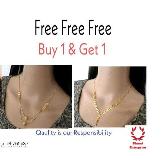 Bhumi09 Gold Plated Combo Mangalsutra Best Quality For Women