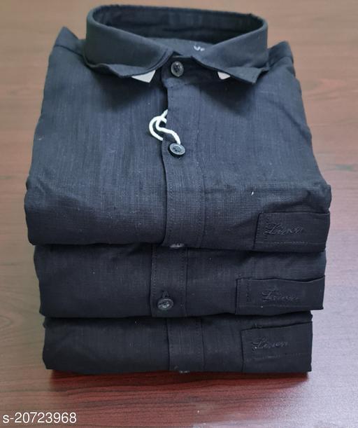 Classic Linen Cotton Men's Shirts