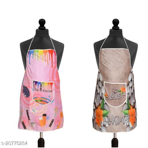 Set of 2 Pc Cotton Fabric Digital Printed Apron