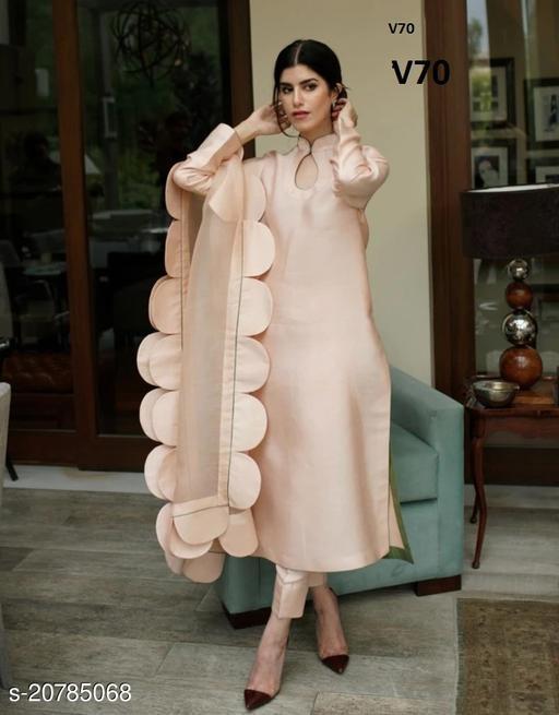 Myra Alluring Semi-Stitched Suits
