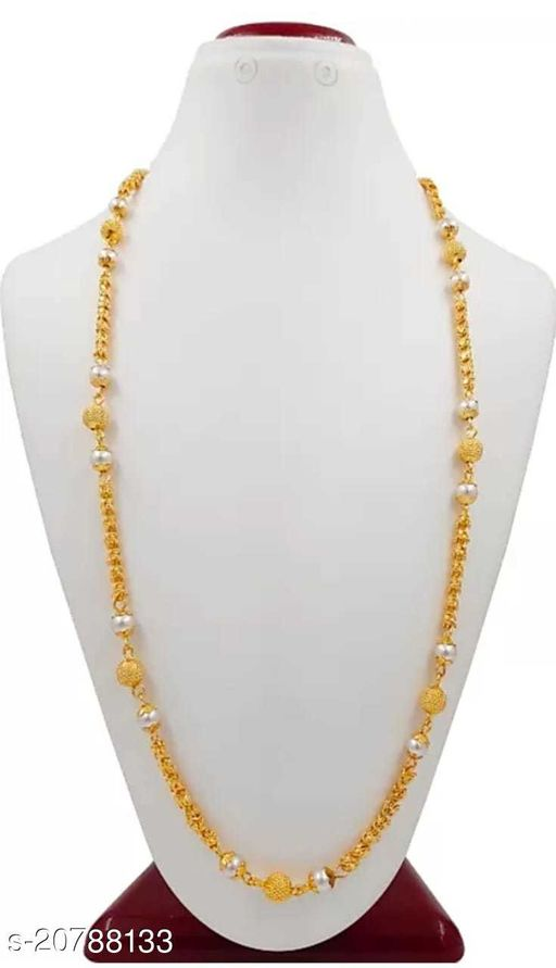Copper high gold plated necklce set for women and girl