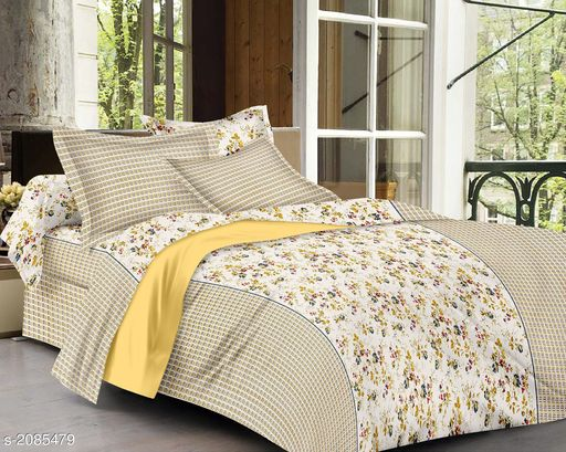 Exotic Cotton Printed Double Bedsheet